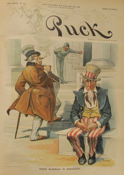 Image for Puck Magazine January 1 1896 - December 30 1896