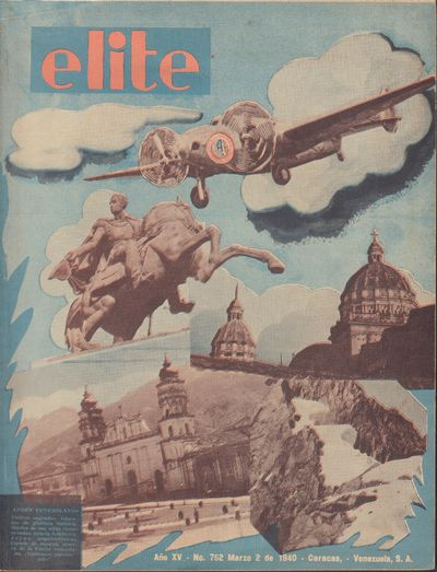 Image for Revista Elite, Ano XV. - No. 752 - March 2 de 1940  [Venezuela]