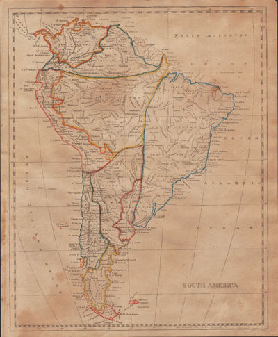 Image for [Map of] South America