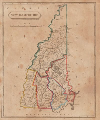 Image for [Map of] New Hampshire