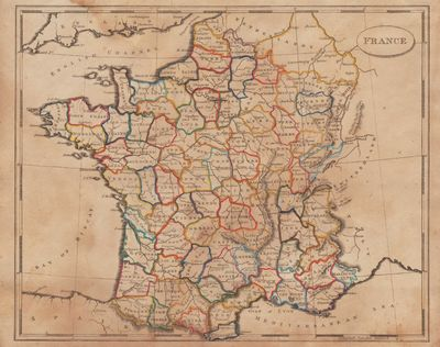 Image for [Map of] France