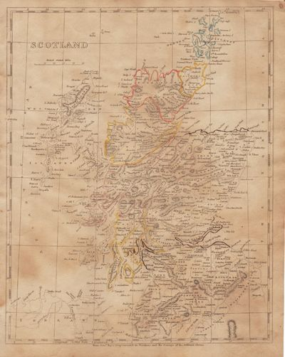Image for [Map of] Scotland