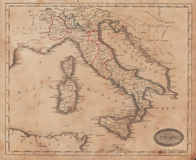 Image for [Map of] Italy