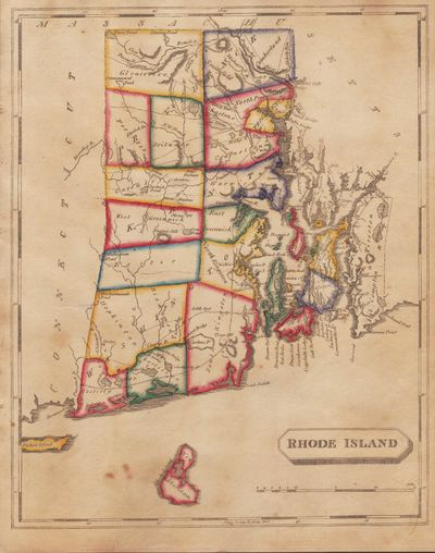 Image for [Map of] Rhode Island