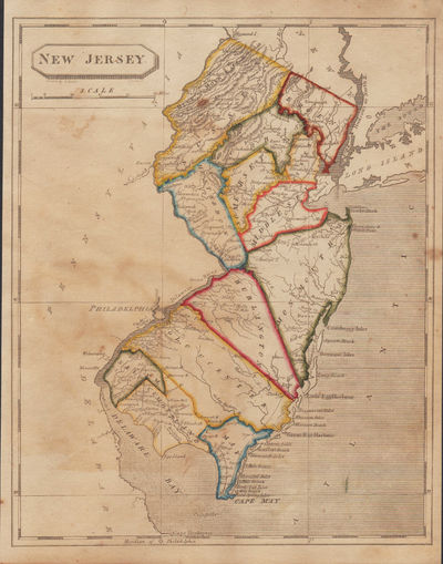 Image for [Map of] New Jersey