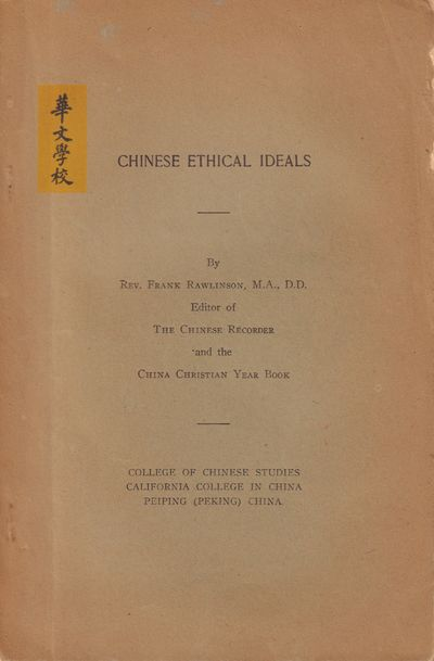 Image for Chinese Ethical Ideas