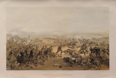 Image for Battle of the Tchernaya. 16th August 1855.