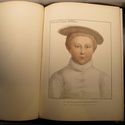 Image for Facsimiles of Original Drawings by Hans Holbein in the Collection of His  Majesty for the Portraits of Illustrious Persons of the Court of Henry VIII