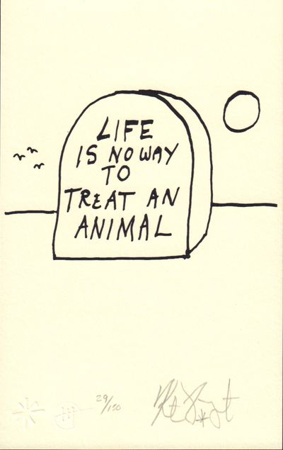 Image for LIFE IS NO WAY TO TREAT AN ANIMAL