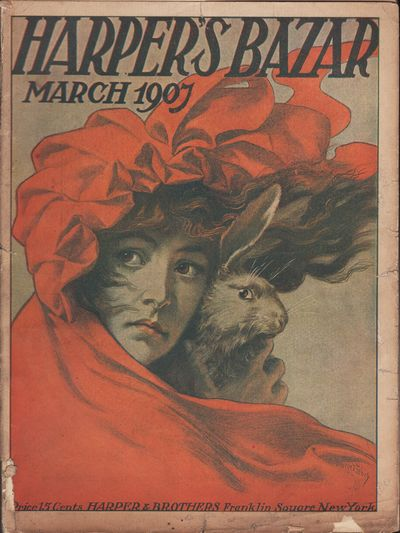 "Image for ""Harper's Bazar [Bazaar], March 1907"""