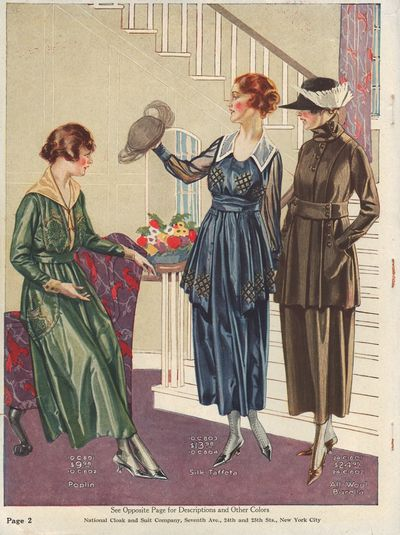 "Image for ""The """"National"""" Money Saving Style Book, July 1918 Fall & Winter 1918-1919"""