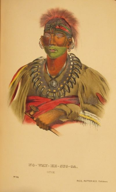 Image for History of the Indian Tribes of North America, with Biographical Sketches  and Anecdotes of the Principal Chiefs. Embellished with one hundred and  twenty portraits, from the Indian Gallery in the Department of War, at  Washington.