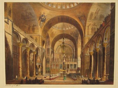 "Image for ""Basilica of St. Marco"" from Interiors and Exteriors in Venice"