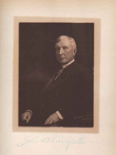 Image for A Visit to John D. Rockefeller by Neighbors and Friends at Forest Hill  Cleveland Ohio September Twenty-sixth Nineteen Hundred and Five