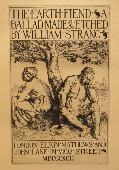Image for The Earth Fiend A Ballad Made & Etched by William Strang
