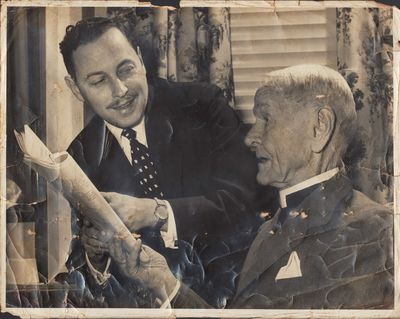 Image for Photograph of Tennessee Williams and his grandfather, Walter Edwin Dakin.