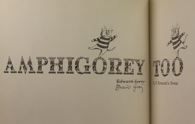 Image for Amphigorey Too. Signed