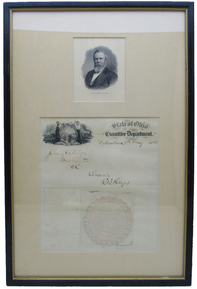 Image for Autographed Ohio State Letterhead and Seal