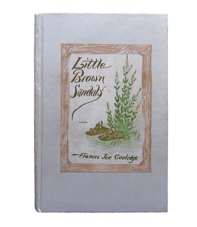 Image for Little Brown Sandals. With drawings by the author.