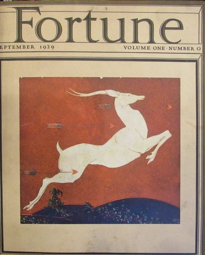 Image for Fortune Magazine.    (February 1930 - April 1938). Vols. I - XVII in 25  books. With the elusive September, 1929 (Issue #0) Prospectus.