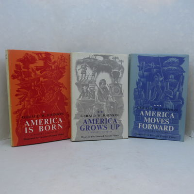 Image for A History for Peter: America is Born, America Grows Up & America Moves  Forward. Three volumes complete.