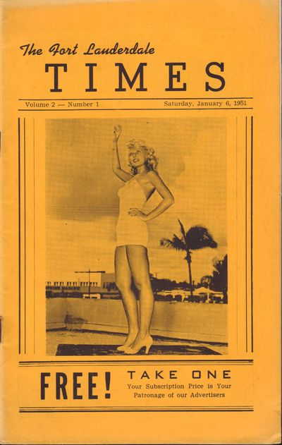 Image for The Fort Lauderdale Times. Volume 2, Number 1. Saturday, January 6, 1951.