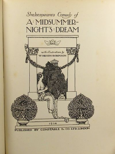 Image for A Midsummer Night's Dream illustrated by W. Heath Robinson