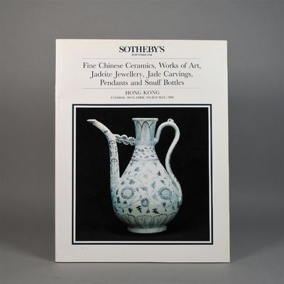 Image for Sotheby's Fine Chinese Ceramics, Works of Art, Jadeite Jewellery, Jade  Carvings, Pendants and Snuff Bottles. Hong Kong Tuesday 30th April to 2nd  May, 1991.