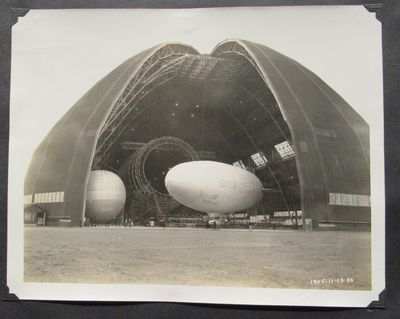 Image for Scrapbook chronicling the rise and fall of the Zeppelin U.S.S. Akron