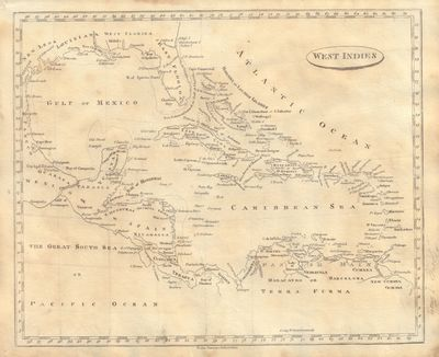 Image for Map of the West Indies From a New and Elegant General Atlas; Comprising all the New Discoveries, to the Present Time