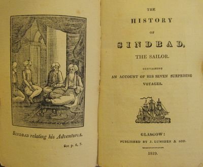 Image for The History of Sindbad, the Sailor. Containing an account of  his seven surprising voyages.