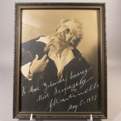 Image for Autographed photograph of Giovanni Martinelli