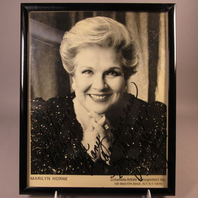Image for Autographed photograph of Marilyn Horne