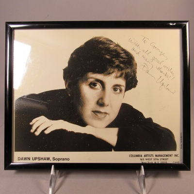 Image for Autographed photograph of Dawn Upshaw