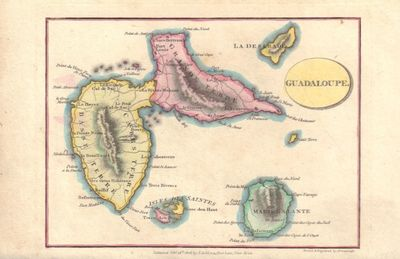 Image for Map of Guadaloupe (Guadeloupe)