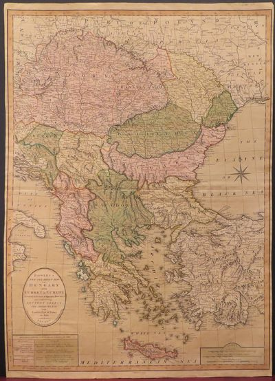 Image for Bowles's New One-Sheet Map of Hungary and Turkey in Europe Divided into their respective Provinces and comprehending Ancient Greece, The Archipelago and Eastern Part of Turkey in Asia