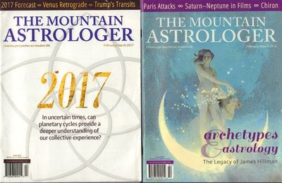 Image for The Mountain Astrologer. Nine Issues (February 2016 - July 2019) timeless perspective on modern life