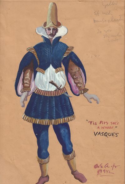"Image for ""Tis Pitty She's a Whore"" Vasques painting"
