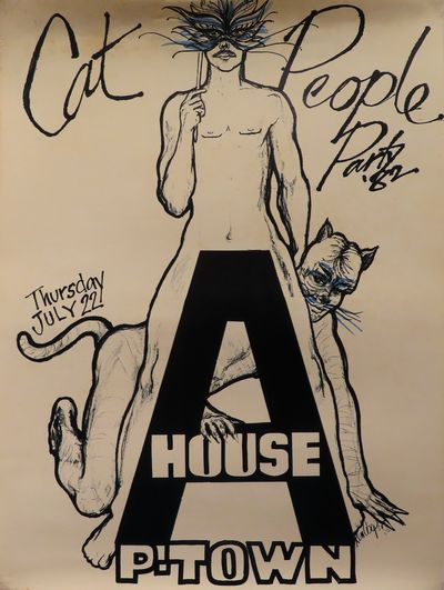 Image for Cat People Party '82 Thursday July 22, A-House P-Town