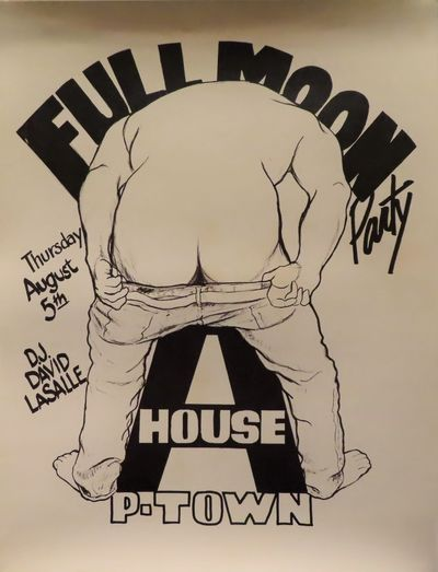 Image for Full Moon Party Thursday August 5 D.J. David Lasalle A-House P-Town