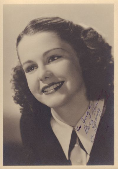 Image for Helen Parrish Signed Photograph