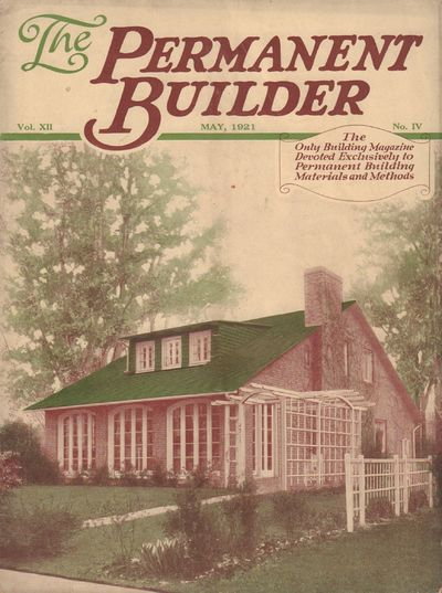 Image for The Permanent Builder [formerly Construction]