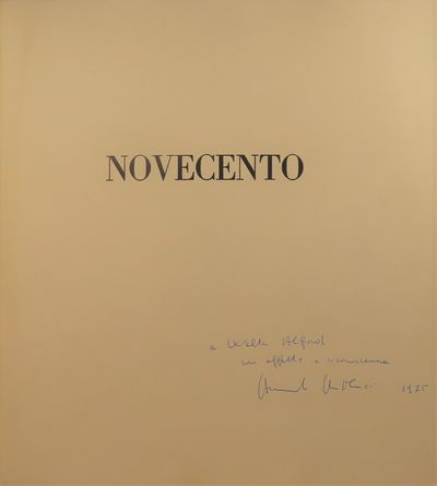 Image for Novecento (1900) (SIGNED BY B. BERTOLUCCI) [Original BTS Photography book]