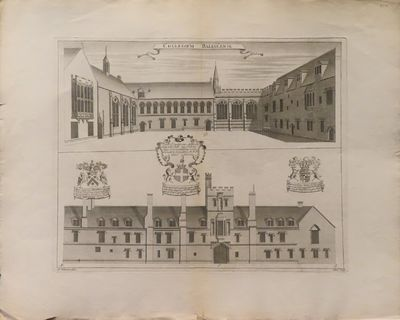 Image for Collegium Baliolense [engraving] [from Oxonia depicta]