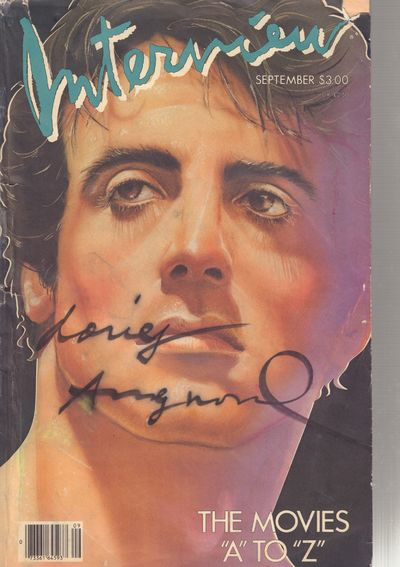 Image for Interview Magazine - September 1985 (SIGNED)