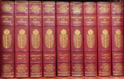Image for History of India (9 Volume Set - Complete)
