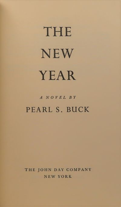 Image for The New Year (INSCRIBED) A Novel