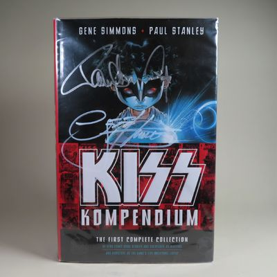 Image for KISS Kompendium (SIGNED by 3 Members)