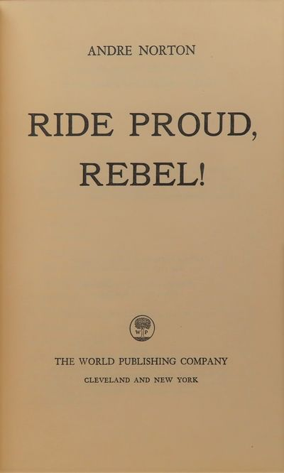 Image for Ride Proud, Rebel!