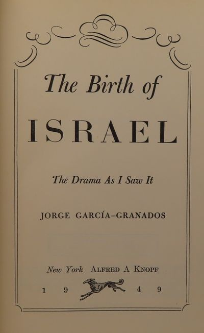 Image for The Birth of Israel, The Drama as I Saw It (SIGNED)